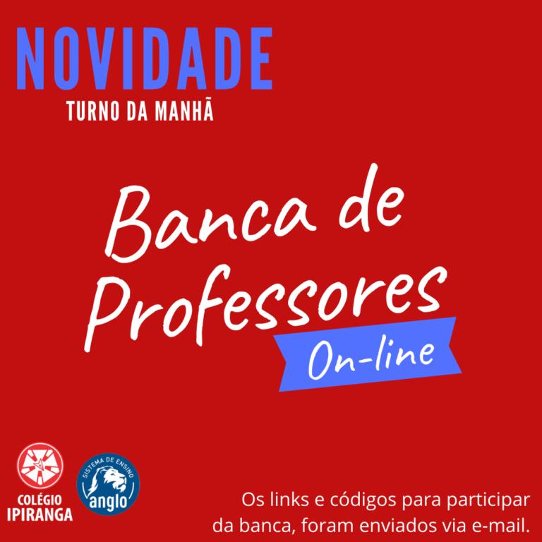 Banca de Professores Online