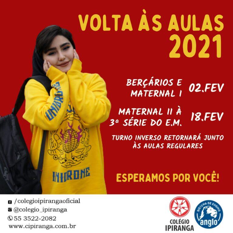 Volta às Aulas 2021