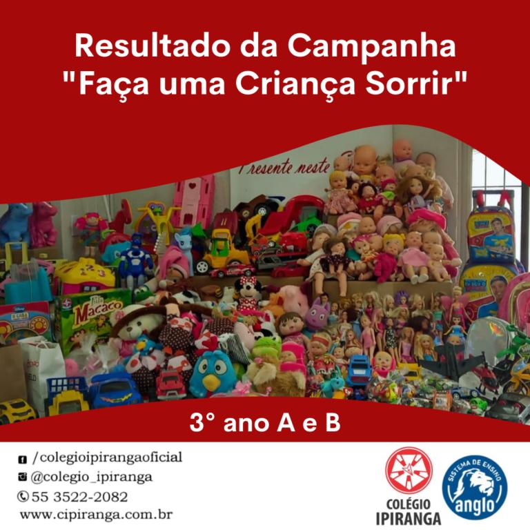 Campanha do brinquedo do Ipiranga se transformou em alegria para muitas crianças
